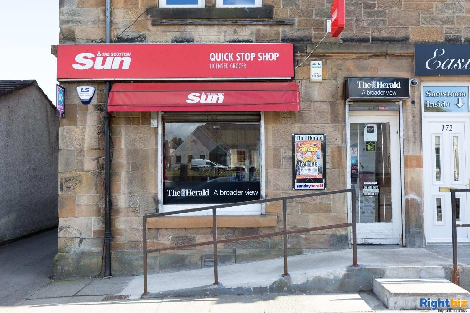 Busy Leasehold Newsagents & Convenience Store For Sale, Stenhousemuir - Image 1