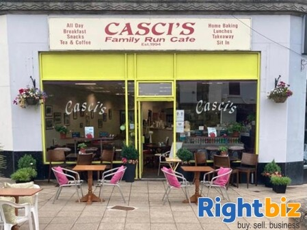Class 3 Hot Food Cafe and Takeaway in Great Location Falkirk - Image 1