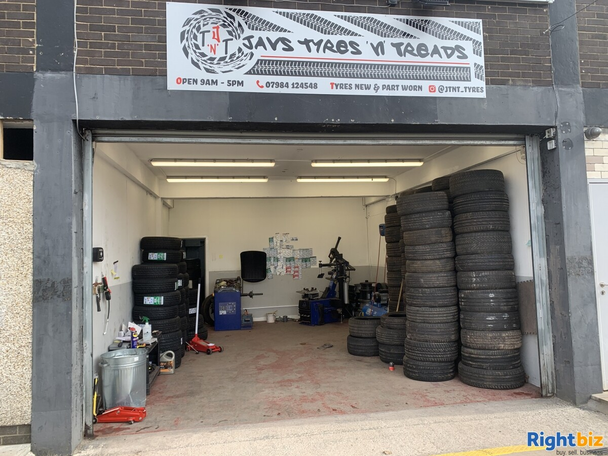 Tyre business for sale in Glasgow Scotland - Image 1