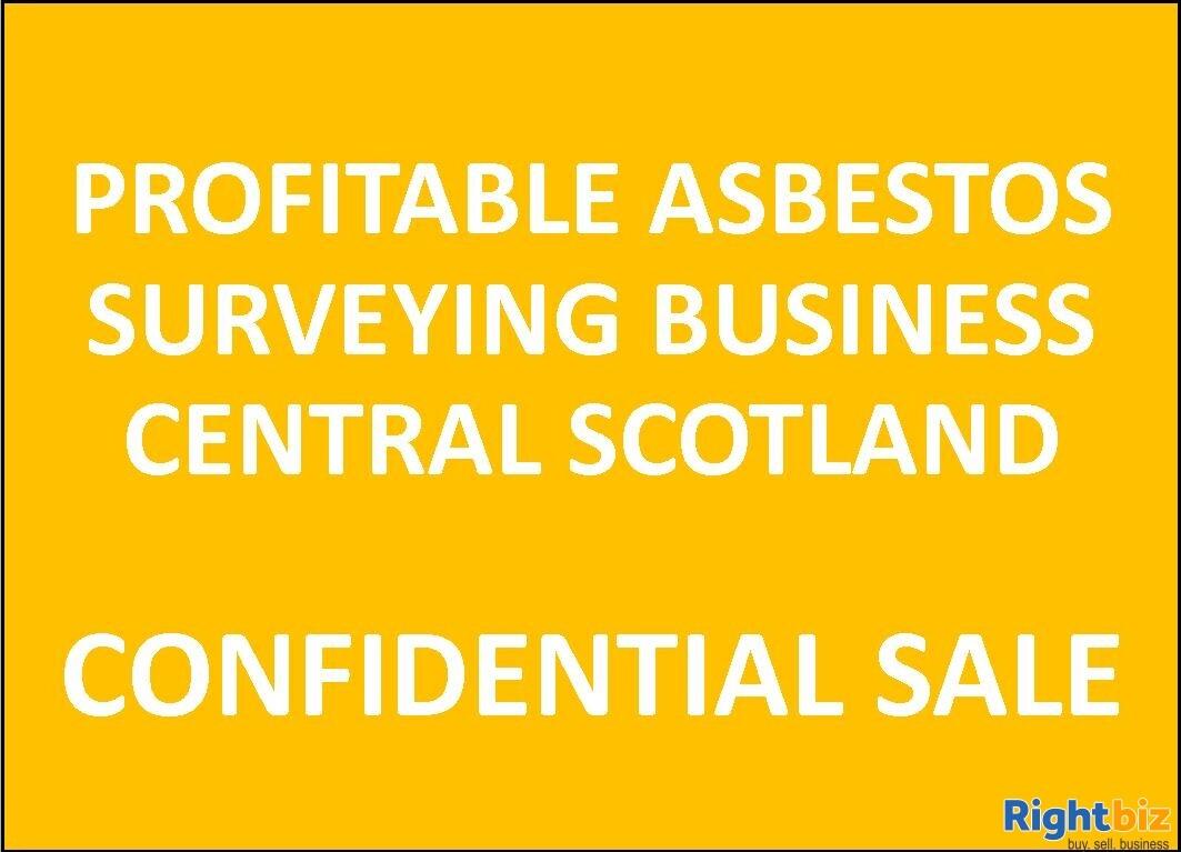 Profitable Asbestos Surveying Business, West Central Scotland - Image 1