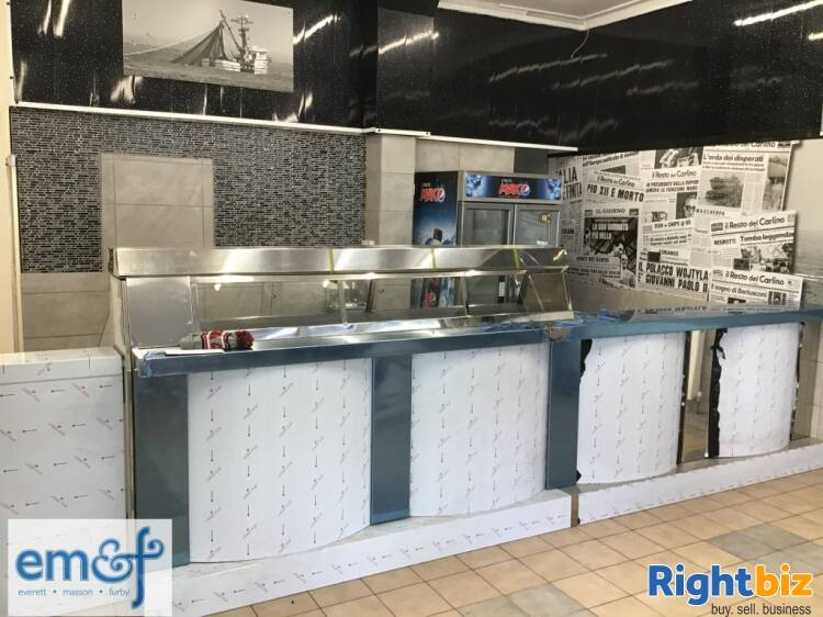 FISH & CHIP SHOP INVESTMENT OPP WITH 4 BED ACCOM, SOUTH WALES - Image 1