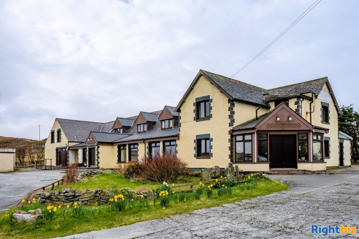 Doune Braes Hotel for Sale on the stunning Isle of Lewis, Scotland - Image 1