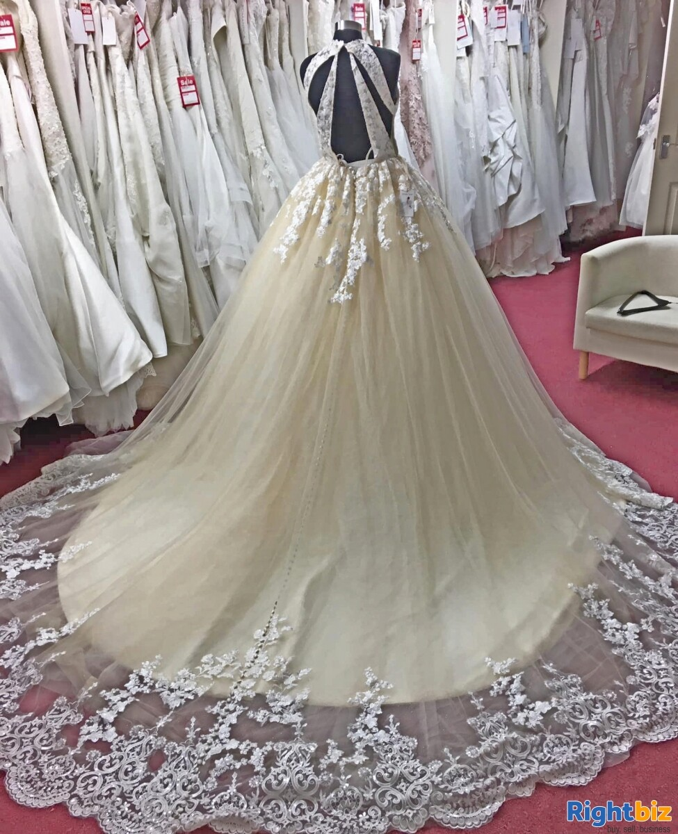 Fully Equipped Bridal Wear Boutique Retail Business for Sale in Wolverhampton - Image 1