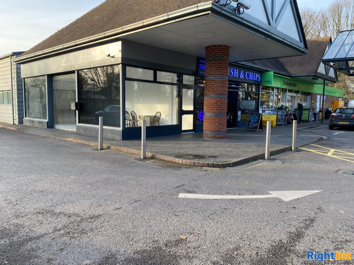 LH Rare Corner retail unit in busy petrol station on the edge of Chichester - Image 1