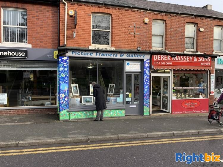 BESPOKE PICTURE FRAMING, CARD & GIFT SHOP IN HESWALL TOWN CENTRE - Image 1
