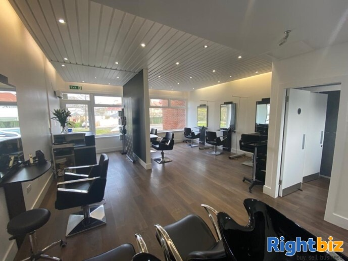Stunning Well Established Hair Salon in Excellent Location Longniddry - Image 1