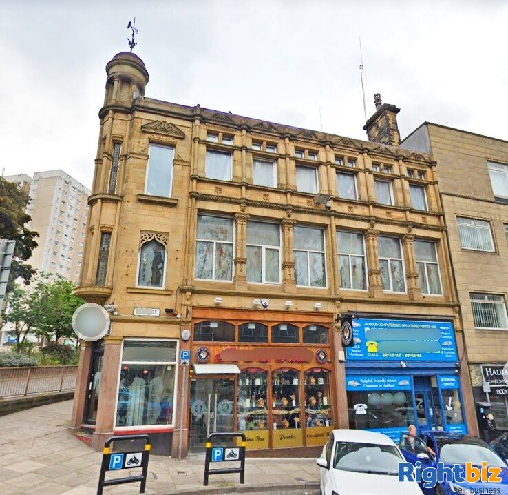 Three-storey Freehold Building in Halifax Town Centre with Two Businesses Included - Image 1