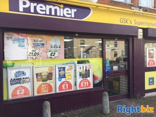 Low Rent Off licence Shop with Flat for sale - Image 1