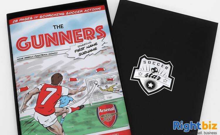 Investment Opportunity in a Personalised Football-Themed Book Publisher - Image 1