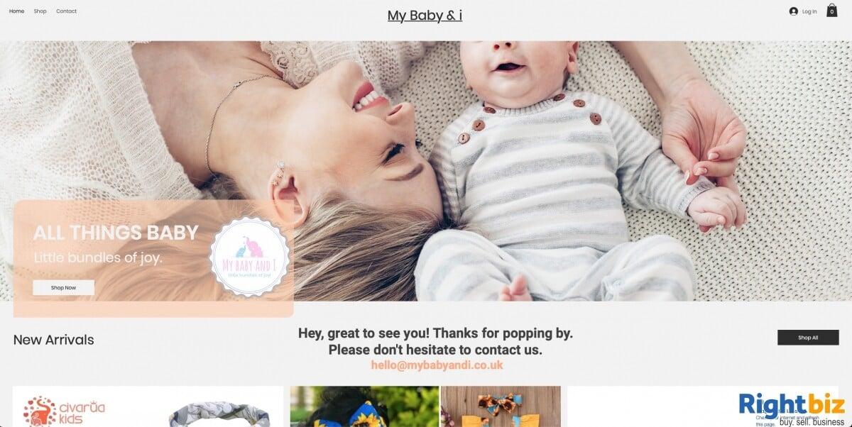 Online baby clothes shop, internet business for sale - Image 1