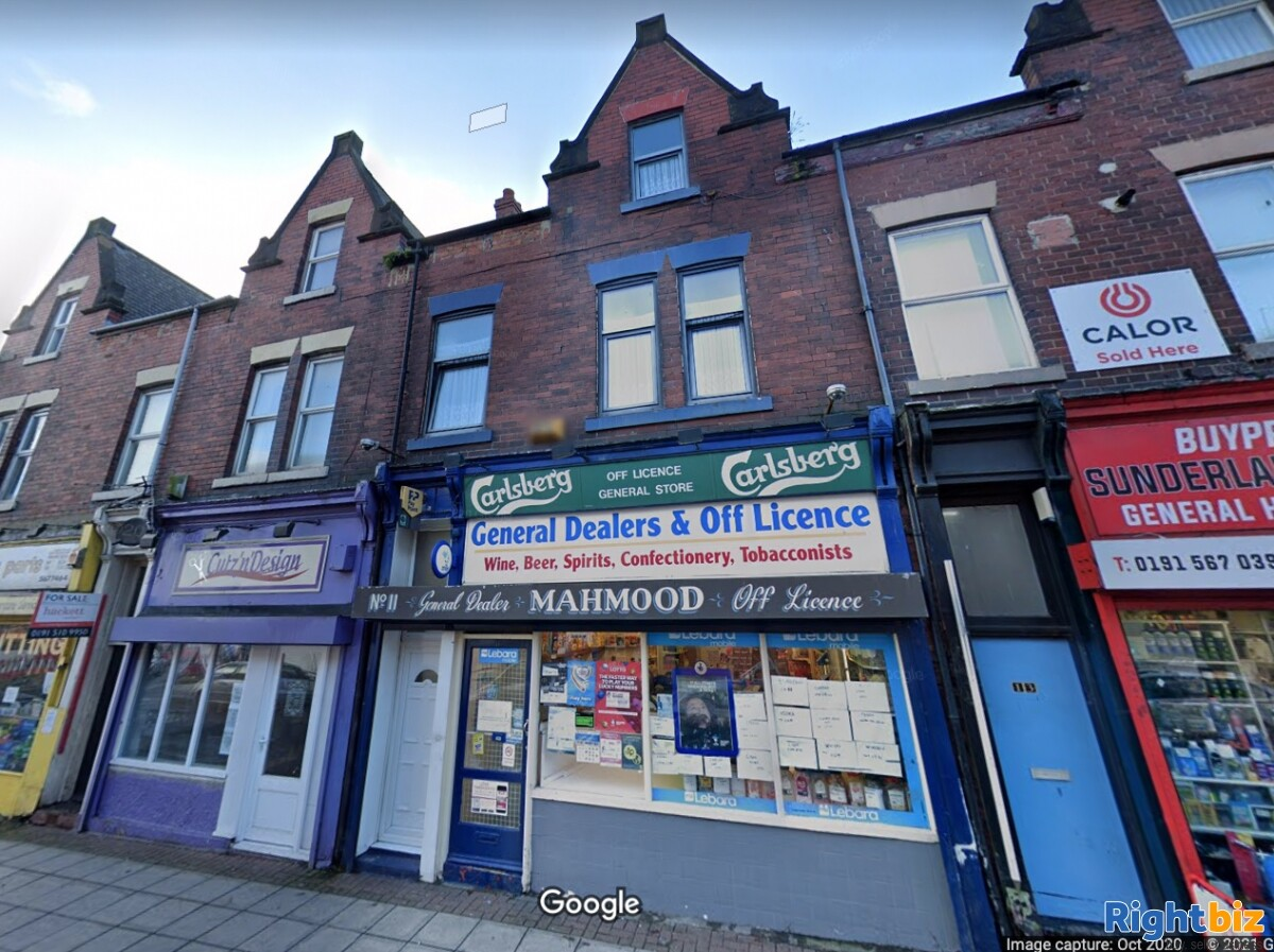 Freehold Convenience & Off Licence with 4 Bedroom Property in Sunderland - Image 1