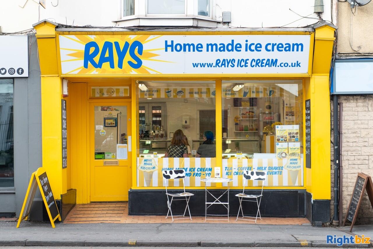 Growing, premium ice cream business - parlour, manufacturing, wholesale, events - Image 1