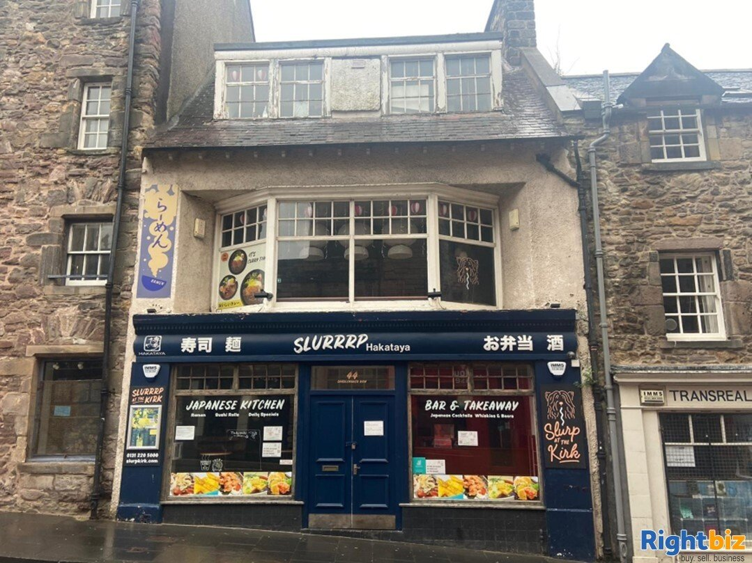3 Floor Restaurant in Highly Sought After Edinburgh City Centre Location - Image 1