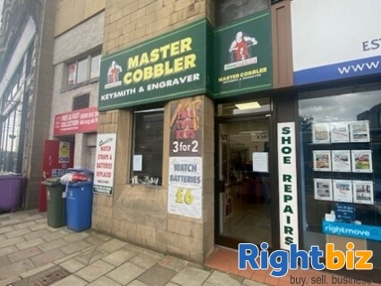 Local Cobblers and Key Cutting Business Falkirk OFFERS NOW INVITED FOR A QUiCK SALE - Image 1