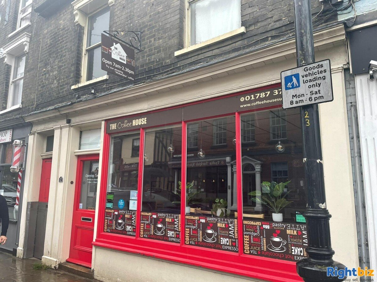 CAFE & COFFEE SHOP TO RENT IN SUFFOLK - Image 1
