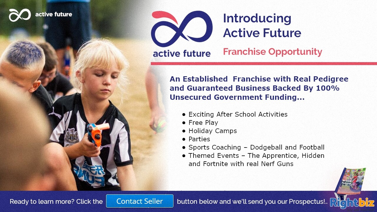 Award Winning After Schools Activities Franchise Guaranteed 100% Govt Funding in Lowestoft - Image 1