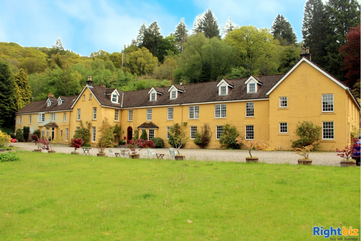 Spectacular 18-Bedroom Hotel within Beautiful Loch-Side Setting, near Oban - Image 1
