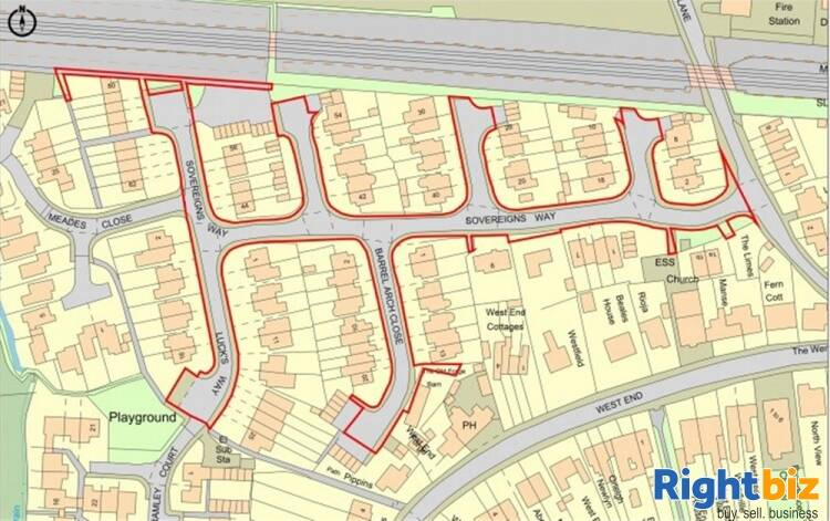 AUCTION LOT 13 - LAND AT SOVEREIGNS WAY AND BARREL ARCH CLOSE, MARDEN, KENT, TN12 9QQ For Sale in Tonbridge - Image 1