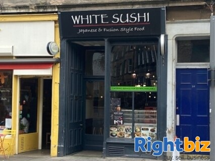 Very Popular Sushi Restaurant and Takeaway in Great Condition Edinburgh - Image 1