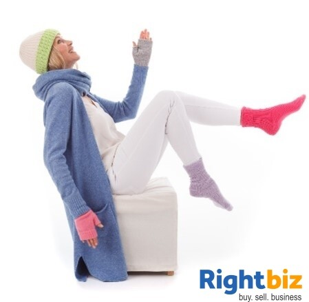 Profitable Lifestyle Knitwear Retail Business, Run From Home, - Image 1