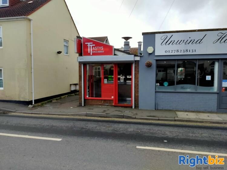 Freehold Fast-Food Takeaway/Commercial Property Near Brean - Image 1