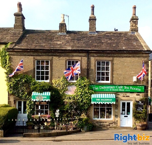 Café Tearooms & Sweet Shop with Extensive Owners Accommodation Gargrave Skipton North Yorkshire - Image 1