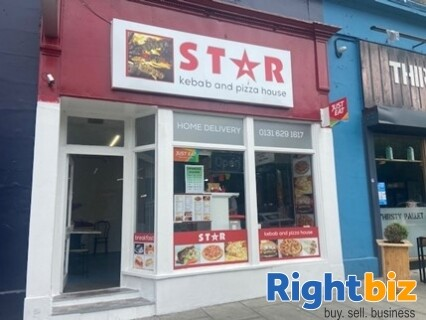 Edinburgh City Centre Class 3 Hot Food Takeaway Fully Equipped - Image 1
