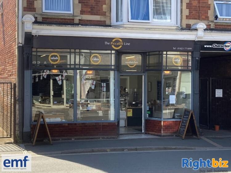 SANDWICH BAR/FOOD TO GO/COFFEE BAR outlet, edge of TAUNTON town centre - Image 1