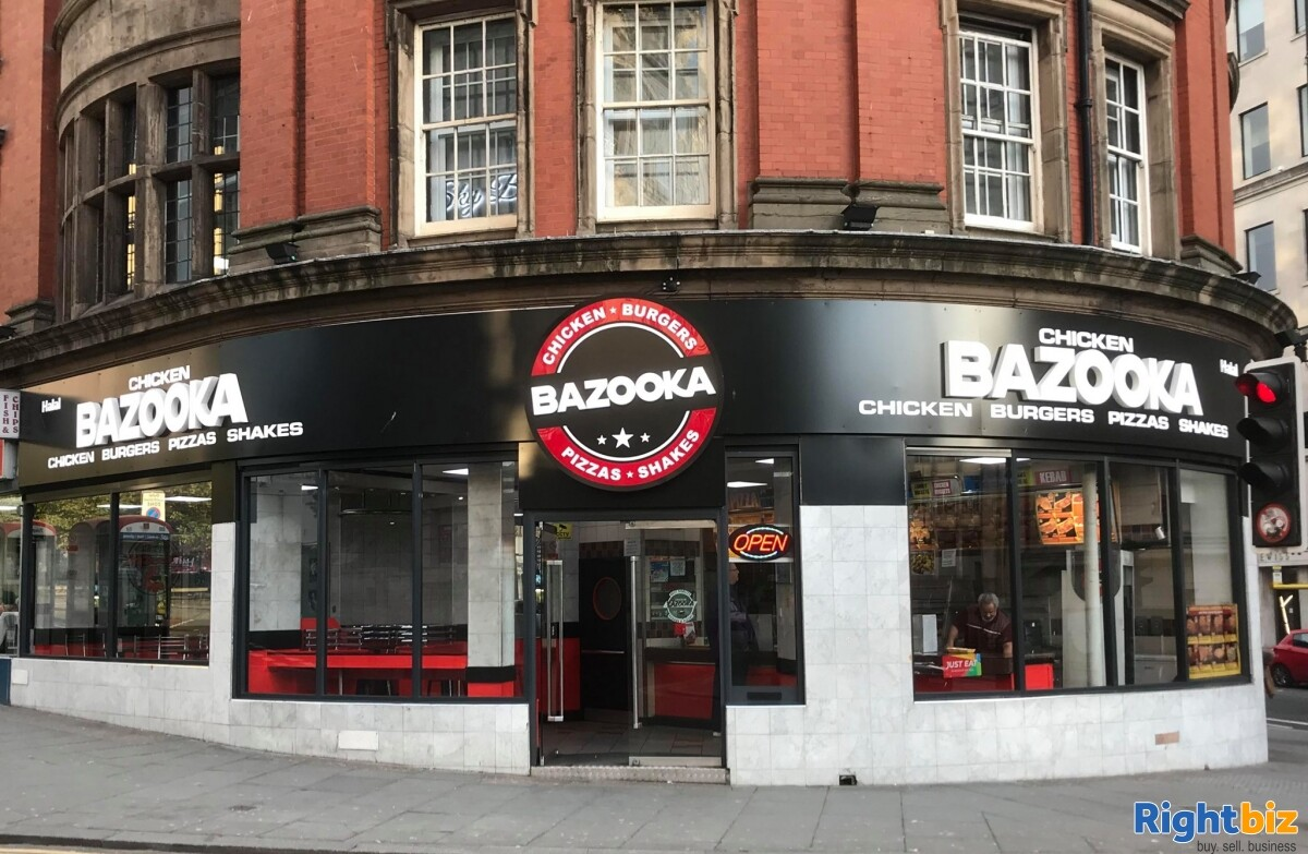 Leasehold Fast Food Restaurant for Sale in Liverpool - Image 1