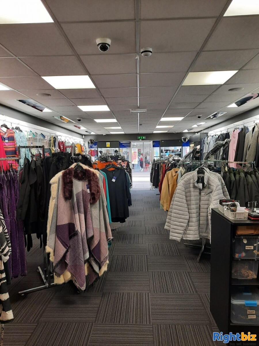 Leasehold clothes shop for sale Winsford Cheshire - Image 1