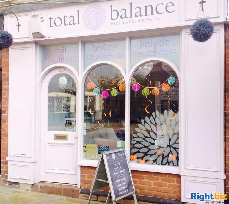Total Balance Long Established Beauty Salon in Kettering, Northants for sale - Image 1