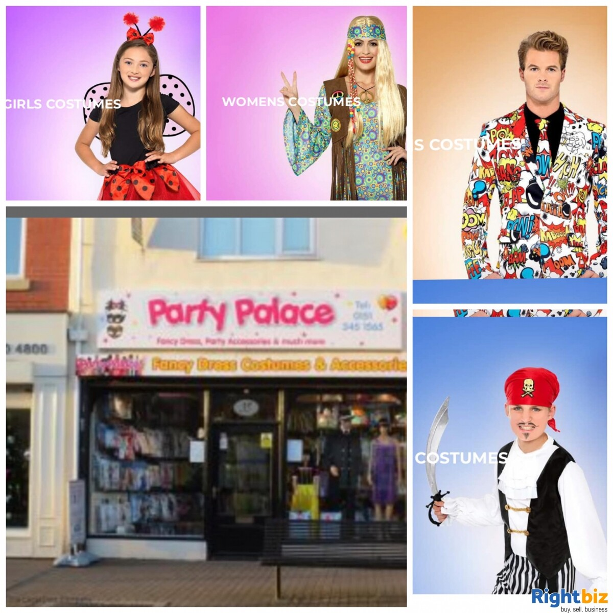 Profitable And Growing Costume Shop Business For Sale - Image 1