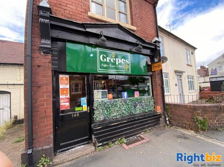 Leasehold Crepe Bar & Coffee House Located In Stourbridge - Image 1