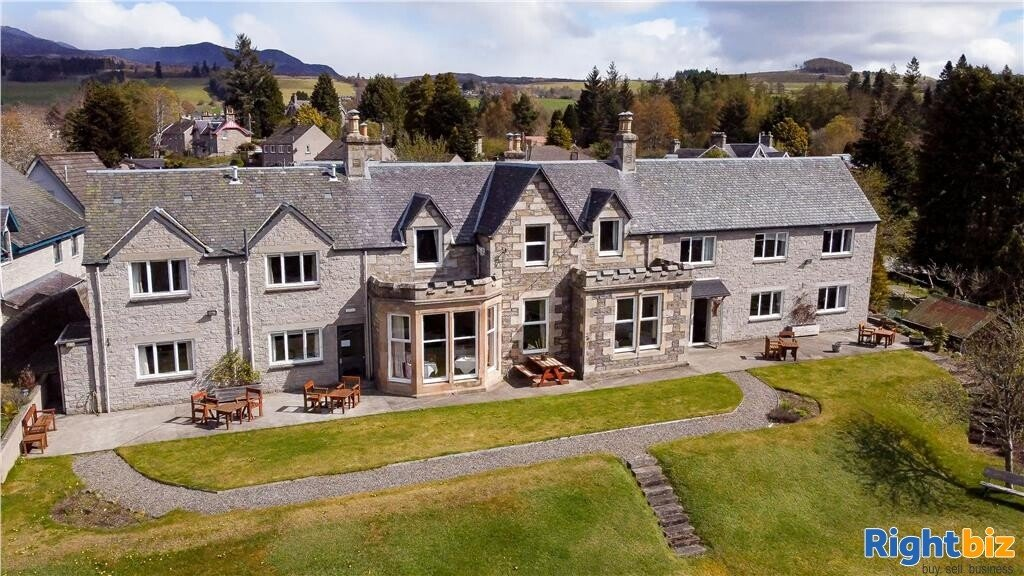Stunning Guest House for Sale in the Heart of Pitlochry - Image 1
