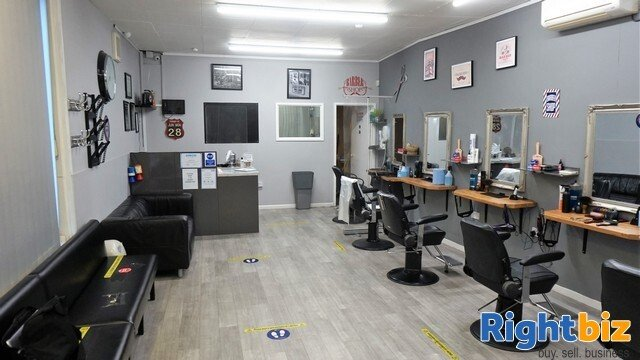 FREEHOLD BARBER SHOP - HISTORIC SUFFOLK MARKET TOWN - Image 1