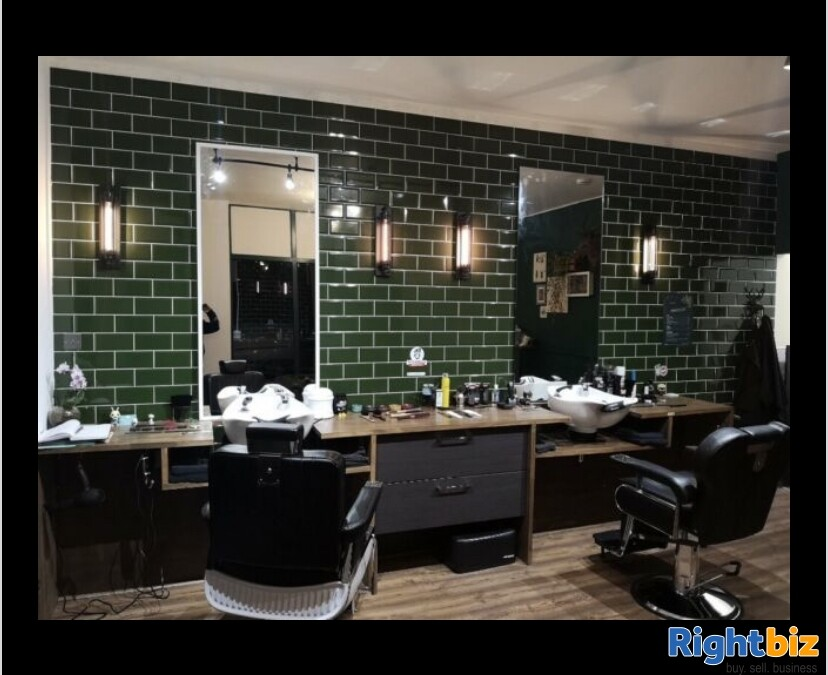 Excellent two-seat barbershop in Blackburn - Image 1