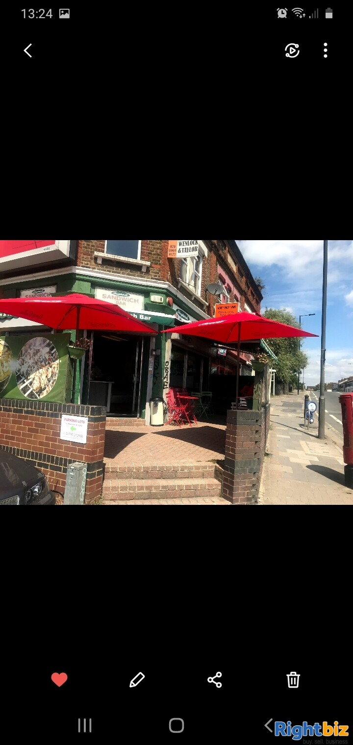 Leasehold sandwich bar for sale in Northwest London - Image 1