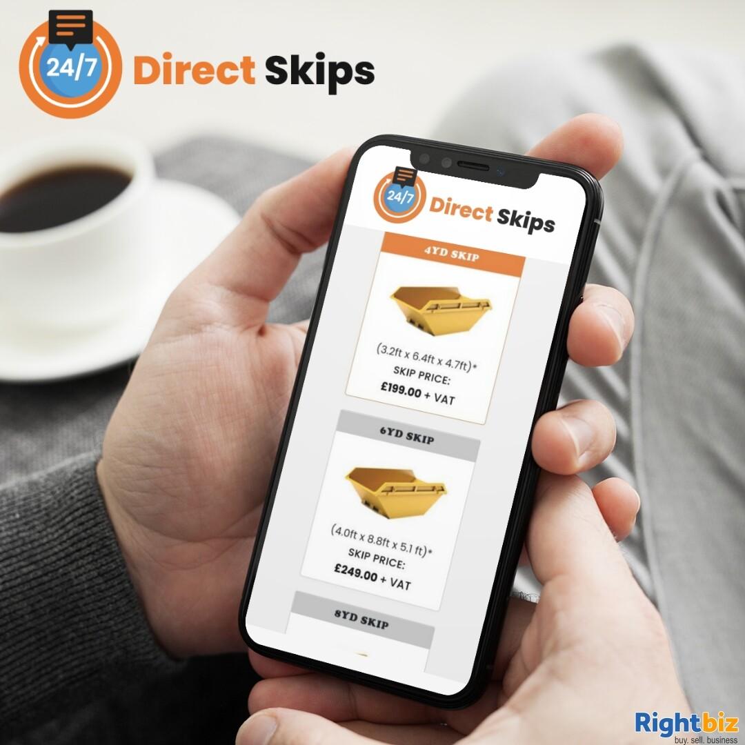 Skip Hire (Brokerage) Business for Sale - 247 Direct Skips Ltd - Image 1
