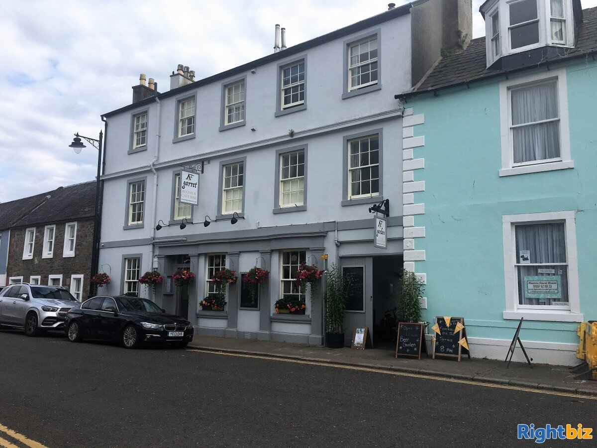 A stunning recently refurbished small Hotel with Restaurant in Kirkcudbright - Image 1