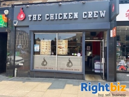 Edinburgh City Centre Class 3 Hot Food Takeaway in Excellent Condition - Image 1