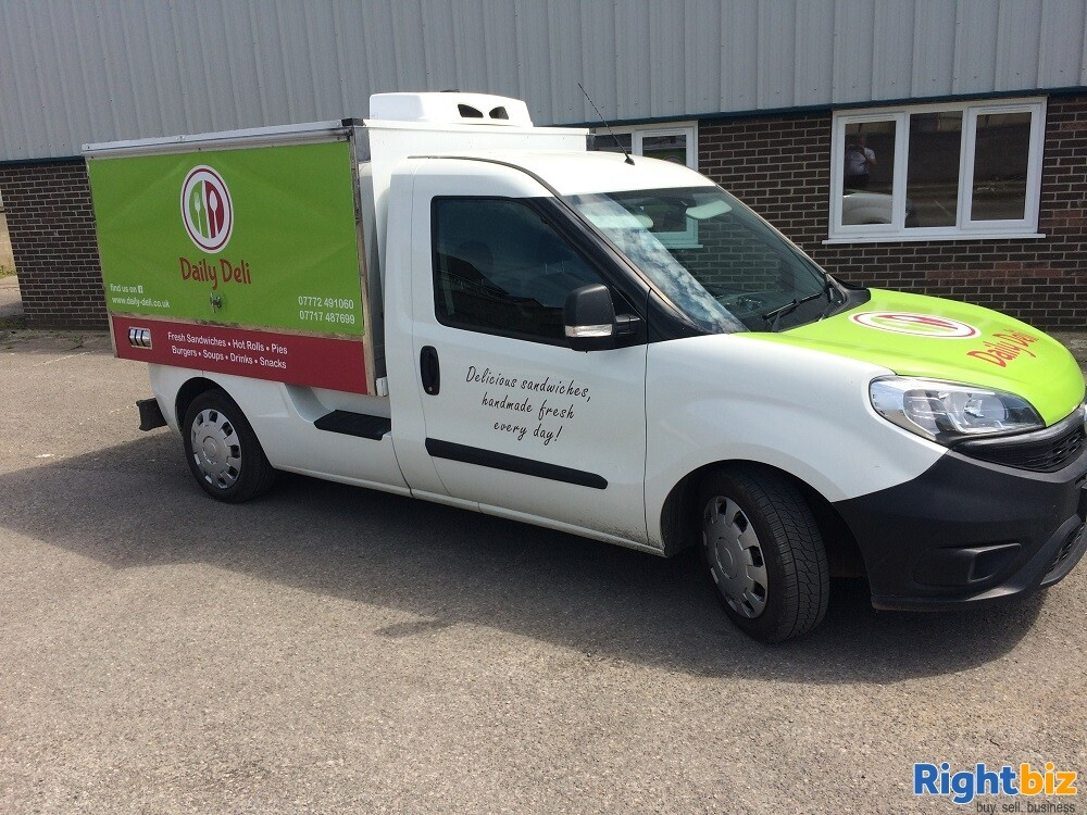 Well-known Mobile Sandwich Van & Hot Food Delivery Business - Image 1