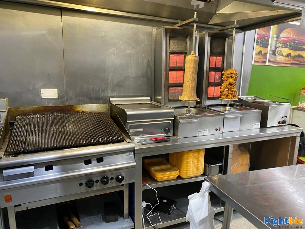 Fast food takeaway in Blackburn in a prime location - Image 1