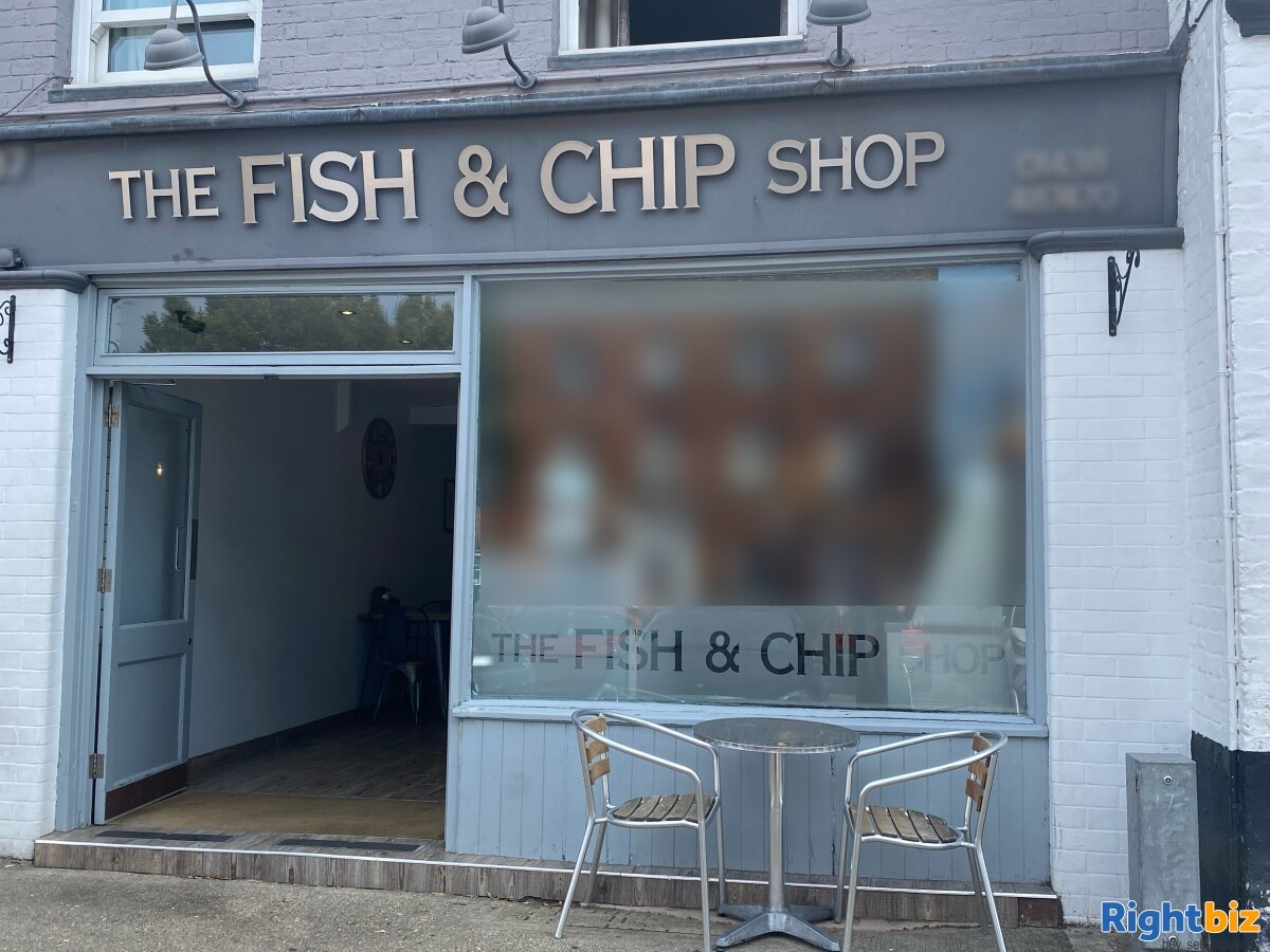 PROFITABLE, HIGH TURNOVER, WITH ACCOMODATION - THE FISH AND CHIP SHOP STEVENAGE OLD TOWN - Image 1