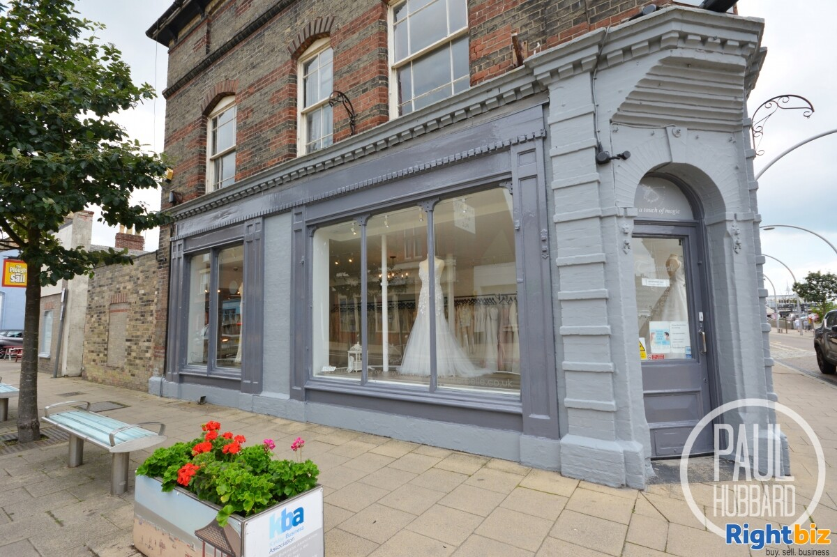 Leasehold - Well-established, family run bridal shop business in Lowestoft, Suffolk. - Image 1