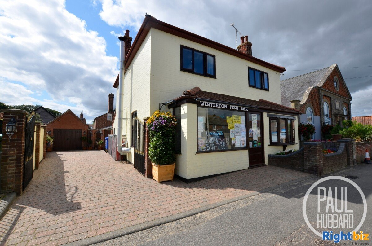 Amazing Freehold - Well Established Fish & Chip Shop in Beautiful Winterton on Sea, Norfolk. - Image 1