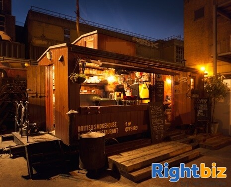 BBQ STREET FOOD CATERING UNIT - NO PITCH - Image 1