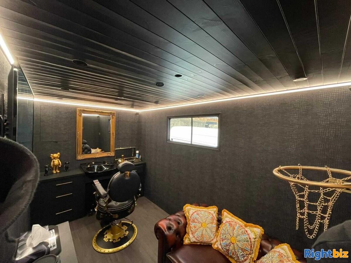 Luxurious Mobile Barbershop Van For Sale - Image 1