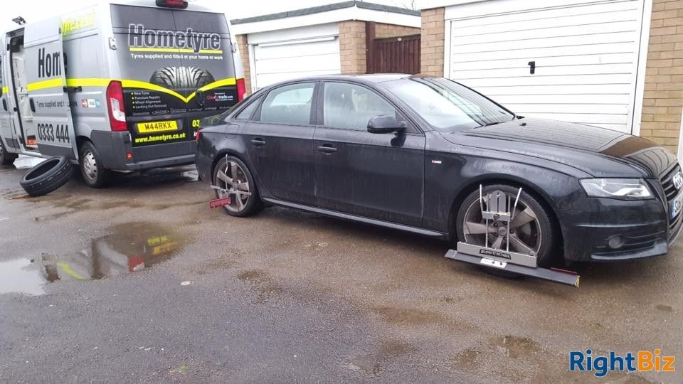 Well established mobile tyre service franchised business covering a wide area of North Hants. - Image 10