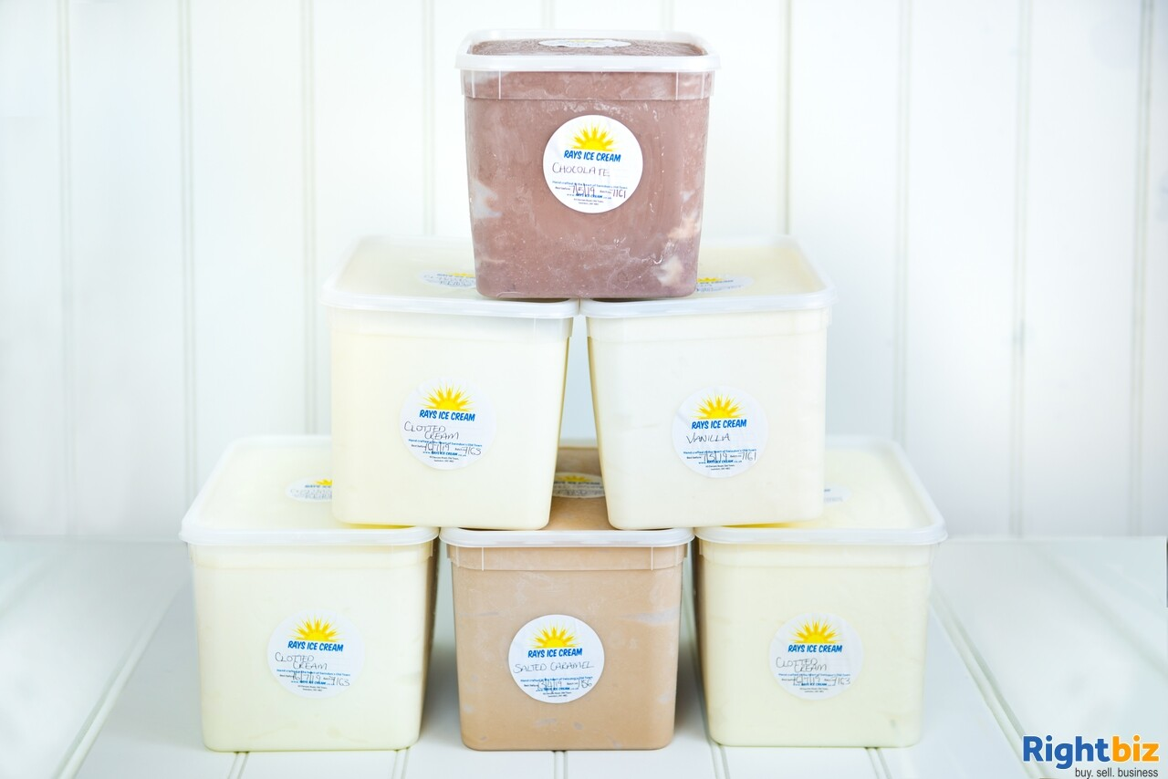 Growing, premium ice cream business - parlour, manufacturing, wholesale, events - Image 10