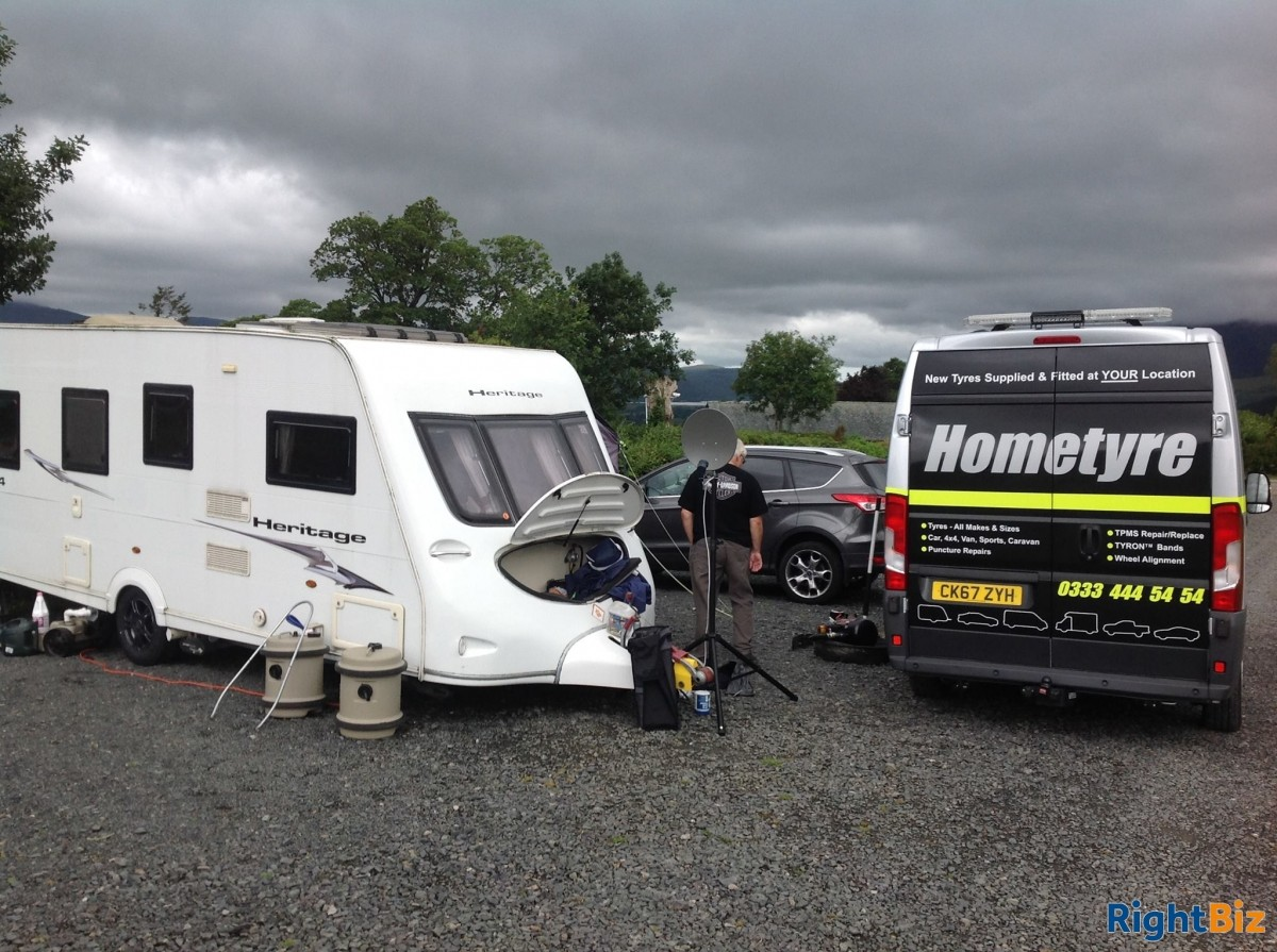 Well established mobile tyre service franchised business covering a wide area of North Hants. - Image 11